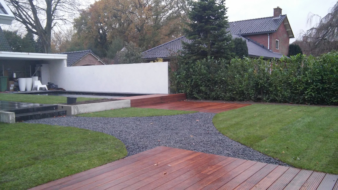 Moderne tuin Laren door Try Out Hoveniers Almere